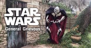 Wondercon Cosplay General Grievous from Star Wars