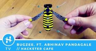 BugZee, ft. Abhinav Pandagale // Hackster Café