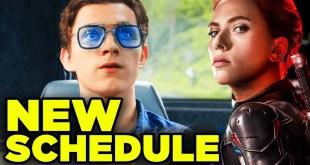 MCU Phase 4 Timeline CHANGES! Black Widow & Captain Marvel 2 Announcement!