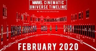 Marvel Cinematic Universe Timeline (February 2020)
