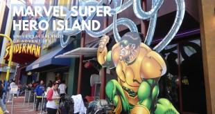 Marvel Super Hero Island Tour at Universal Islands of Adventure