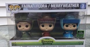 Pop! Review: Sleeping Beauty Fairies 3pk (Amazon Exclusive) | | DisKingdom.com | Disney | Marvel | Star Wars
