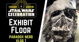 Star Wars Celebration 2019 Exhibit Floor Walkthrough - Paradox Nerd Vlog Ep1