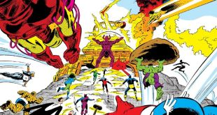 The Superheroes Try to Take Down Galactus (It Does Not Go Well)