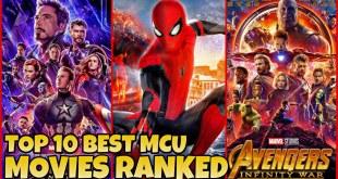 Top 10 Marvel Cinematic Universe Movies Ranked!
