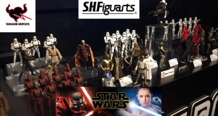 【All SH Figuarts!】STAR WARS exhibition in Tamashii Nations store Akihabara in Japan