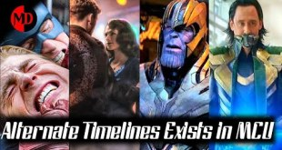 Alternate Timelines Exists In Marvel Cinematic Universe || Avengers End Game || Explained In Hindi |