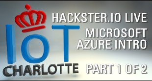 Charlotte IoT Live Hackster.io Microsoft Azure 6/12/17 1st half of meetup