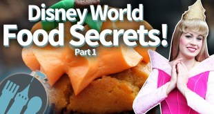 Disney World Food Secrets -- Free Stuff, Cool Stuff, and MORE!! (Part One)