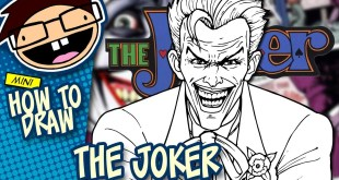 How to Draw The Joker Comic Version Narrated Easy Tutorial