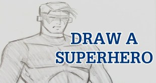 Learn to Draw a Classic Superhero