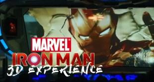 MARVEL IRON MAN DISNEYLAND FULL RIDE POV [4K HD]