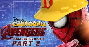 MARVEL LAND CONSTRUCTION UPDATE - Disney California Avengers Part 2