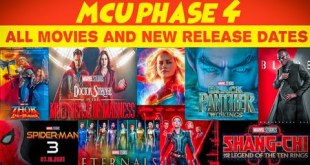 Marvel cinematic universe Phase 4 All movies name and New Release dates || Animated nick