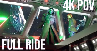 NEW Star Wars Ride | Rise of The Resistance Full Ride Through 4K | Walt Disney World