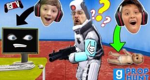 PROP HUNT! Garry's Mod Hide and Seek Trolling (FGTeeV Boys)