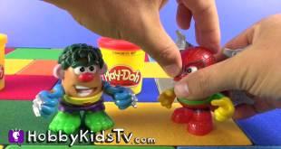 Playskool Mr. Potato Head Mixable Mashable Toys HobbyKidsTV