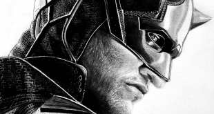 This is black and white version of daredevil drawing. Hope you like it...