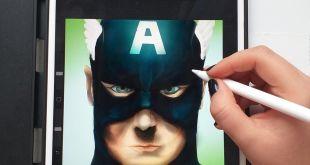 the first avenger fanart ️ . . .                 ...
