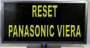 Como resetar tv Panasonic Viera padrão de fábrica