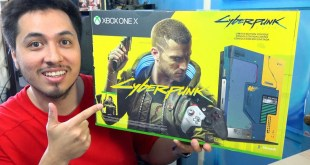 CyberPunk 2077 Xbox One X Limited Edition Bundle Unboxing - ThePapiGfunk