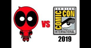 Deadpool vs San Diego Comic-Con SDCC 2019