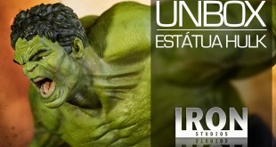 Green Hulk: Unbox do Monstro da Era de Ultron - Oficial Marvel / Iron Studios / Vingadores