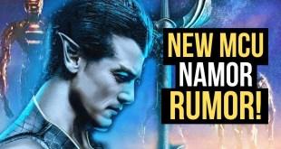HUGE MCU RUMOR! Namor & Atlantis Teased In Marvel's The Eternals??