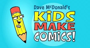 Kids Make Comics#1: Simple Shapes make Super Characters!