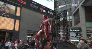 Launching of Marvel Studios: ​​Ten Years of Heroes Exhibition, Pavilion Kuala Lumpur