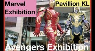 MARVEL AVENGERS Exhibition Kuala Lumpur Pavillion KL | Marvel exhibition
