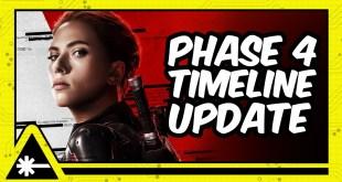 MARVEL: Phase 4 Timeline Update (Nerdist News w/ Dan Casey)