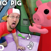 PSYCHO PIG 🎵 FGTeeV Official Music Video (Roblox PIGGY Song)
