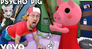 PSYCHO PIG 🎵 FGTeeV Official Music Video Roblox PIGGY Song