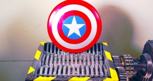 Shredding Avengers Captain America Toy Shield And Some More Marvel Toys