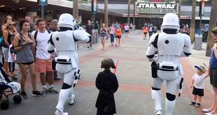 Star Wars Escort to Kylo Ren 4-16 First Order Hollywood Studios (must watch ending)