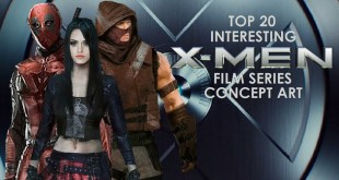 Top 20 Interesting X-Men Film Series Concept Art
