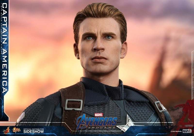 Hot Toys Captain America no mask