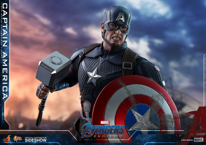 Hot Toys Captain America head