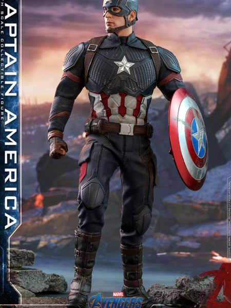 Hot Toys Captain America main