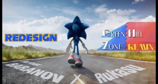 ℝ𝔼𝔻𝔼𝕊𝕀𝔾ℕ Sonic Movie - Modern Sonic w/ Green Hill Zone remix - Fanmade