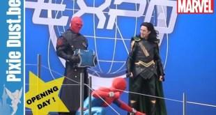"""🔴 FULL SHOW """"Stark Expo"""" w/ Thor, Loki, Spider-Man, Captain Marvel Disneyland Paris 2019 Avengers"""