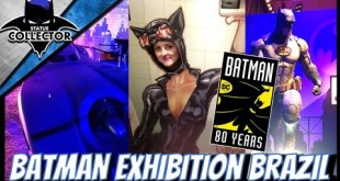 Batman 80th DC / Iron Studios Exhibit Video Tour In BRAZIL!