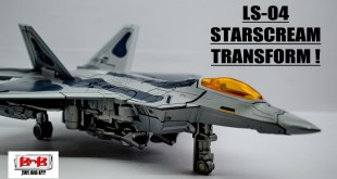 BlackMamba LS-04 Starscream Transformers Movie [TRANSFORM]! | AJIMTOYS