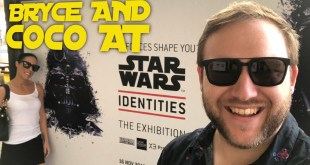 Bryce and Coco at STAR WARS IDENTITIES Exhibition (Powerhouse Museum, Sydney Australia)
