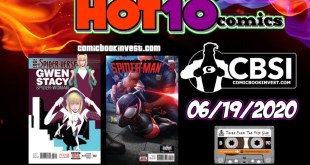 CBSI Hot 10 Comics List: The Top Ten Comic Books Week of 06/19/2020