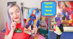 Captain Marvel Movie Review | Merchandise Review Too!