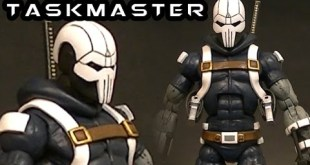 Custom UDON TASKMASTER v5 Marvel Legends Figure Review