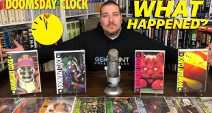 DOOMSDAY CLOCK Review & GIVEAWAY! | DC Comics | Geoff Johns