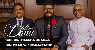 Date With Danu | Hon.(Dr.) Harsha De Silva and Hon. Eran Wickramaratne